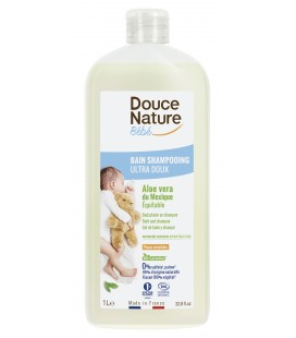 PROMO - Bain shampooing ultra doux sans sulfates, hypoallergénique