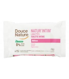 Lingettes hygiène intime hypoallergéniques 100% bio biodégradable
