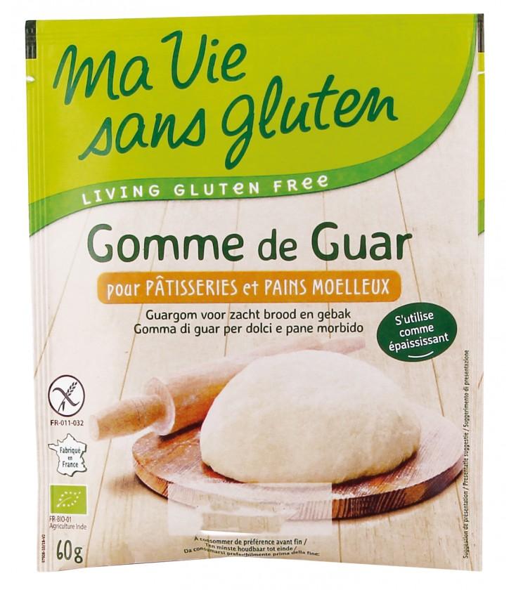 Gomme de guar bio & sans gluten
