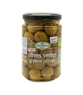 Olives Vertes Entières DEMETER Bio et Vegan