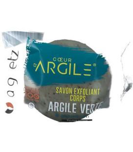 PROMO - Savon exfoliant pour le corps à base d'argile verte