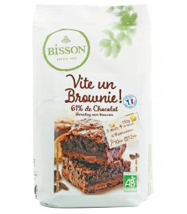 Vite Un Brownie 61 % de chocolat bio et équitable