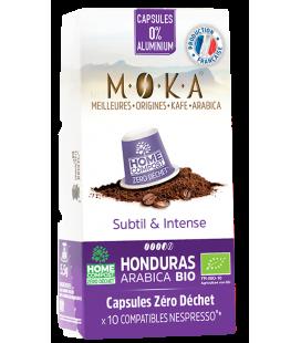 Capsules biodégradables de café Arabica Bio HONDURAS x10