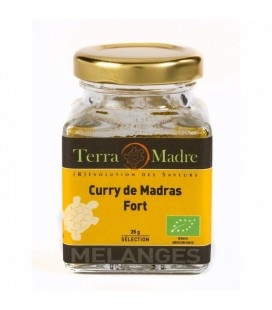Curry de Madras FORT bio