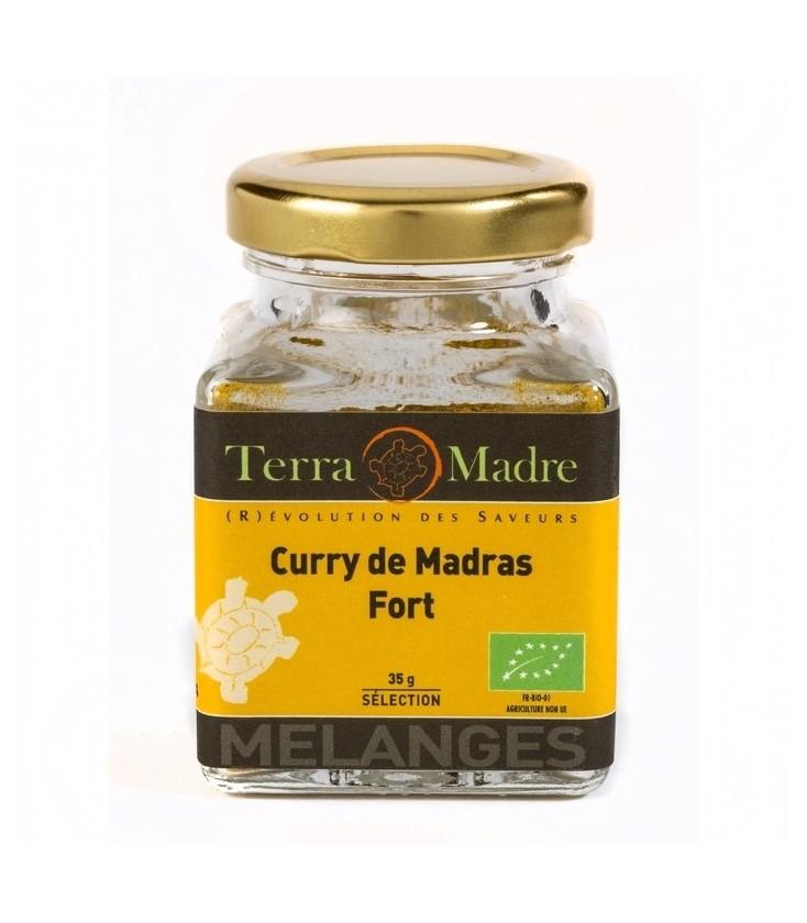 Curry de Madras fort bio