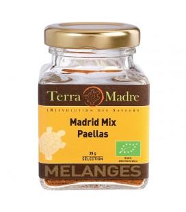 Madrid Mix - Mélange d'épices bio pour Paellas