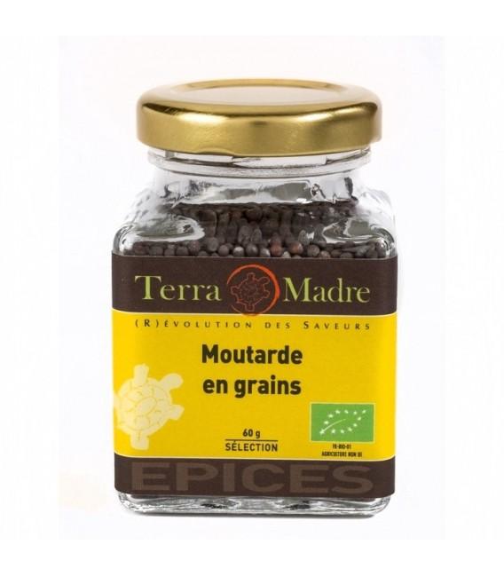 PROMO - Moutarde brune en grains bio