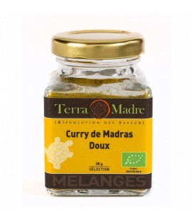 DATE PROCHE - Curry de Madras DOUX bio