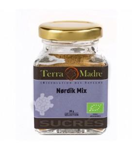 Nordik Mix - Mélange d'épices bio pour Cakes, Gâteaux roulés, Biscuits, Confitures, Pâtisserie, Pains d'épice