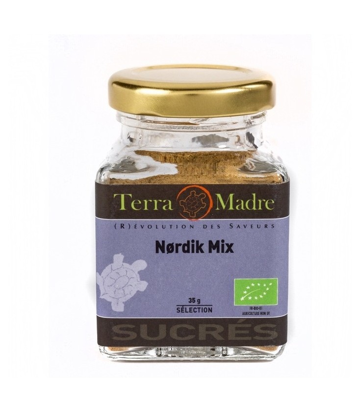 Nordik Mix bio (Cannelle, gingembre, girofle et cardamome)