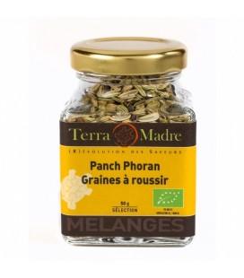 Panch Phoran Graines à roussir - Mélange d'épices bio pour Plats au curry, Poêlées de légumes, Poissons, Viandes revenues.