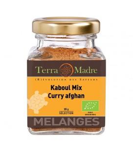 Kaboul Mix (Curry afghan) - Mélange d'épices bio pour Viandes, Poissons, Plats de riz