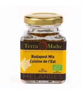 Budapest Mix (cuisine de l'Est) - Mélange d'épices bio pour Ragoûts et Goulashs, Spaghettis à la sauce tomate.