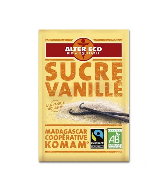 Sucre vanillé 6x7.5 g bio et équitable - DERNIERS STOCKS