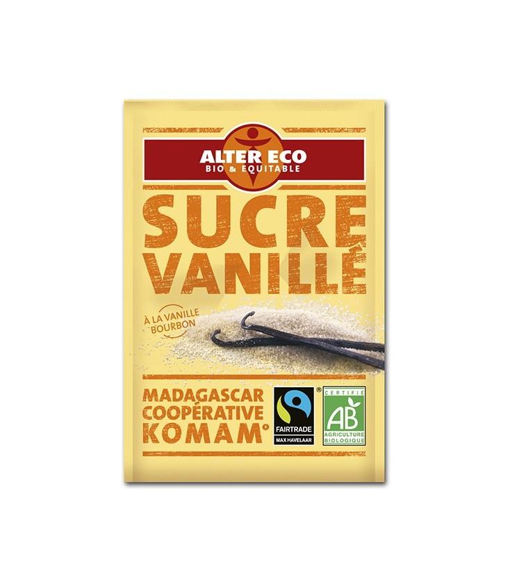 Sucre vanillé 6x7.5 g bio et équitable