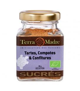 Tartes, Compotes & Confitures - Mélange d'épices bio