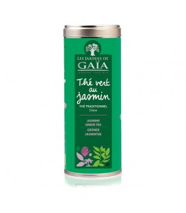 Thé vert au jasmin - Thé Vert traditionnel bio