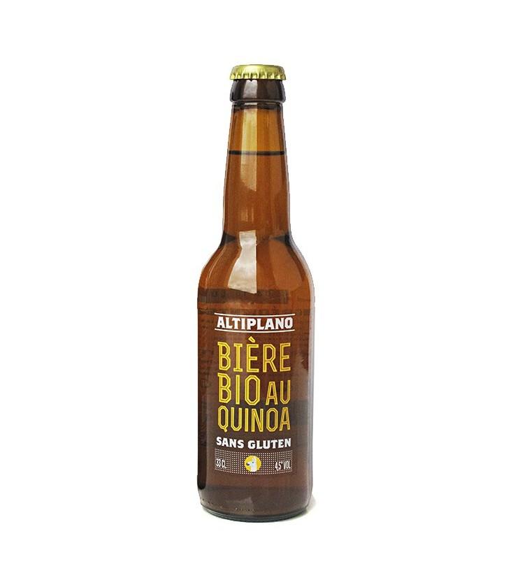 Bière au quinoa bio et sans gluten