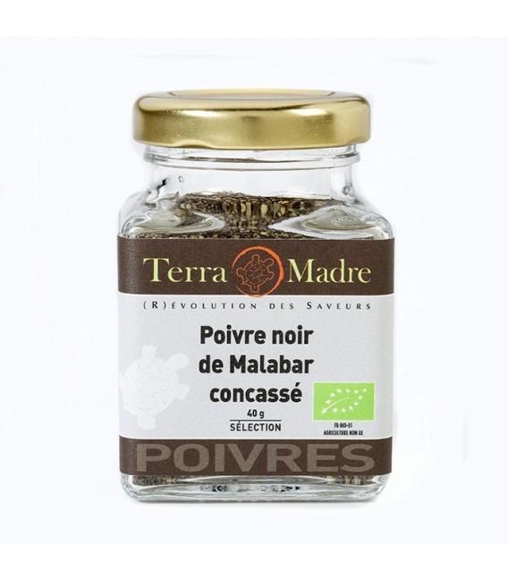 Poivre noir de Malabar concassé