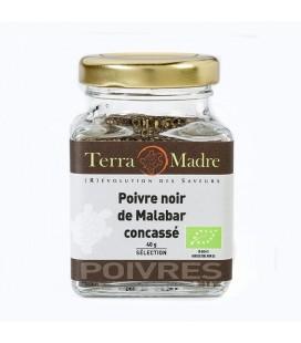 DATE DÉPASSÉE - Poivre noir de Malabar concassé