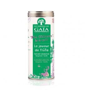 Le joueur de Flûte - Thé Vert aromatisé (Bergamote Vanille) bio
