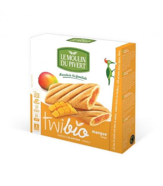 Biscuits Twibio fourrés à la mangue bio & vegan