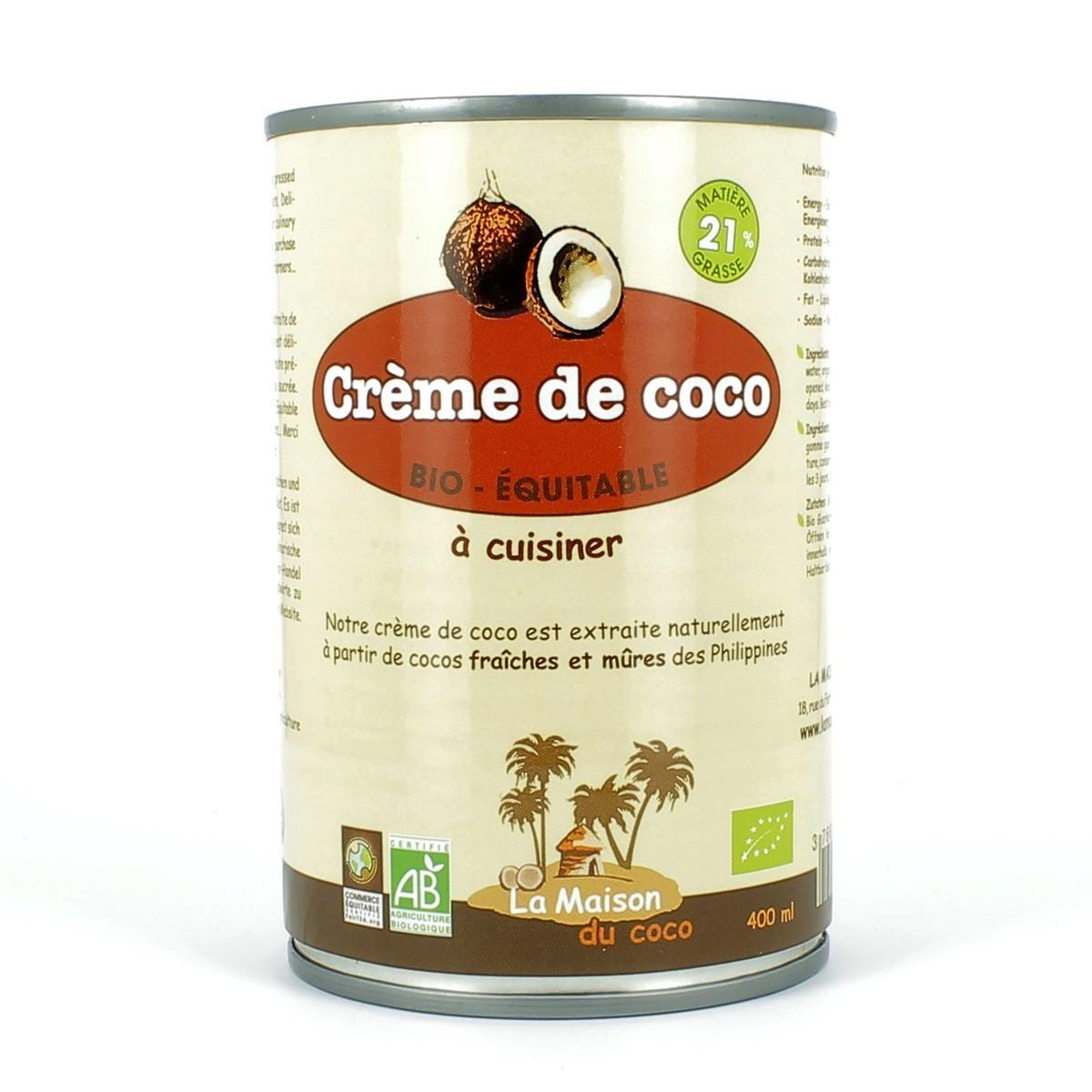 Cr me de coco bio cuisiner - Cuisiner les cocos de paimpol ...