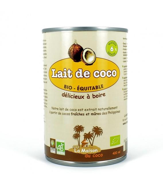 DATE DÉPASSÉE - Lait de Coco bio 6%