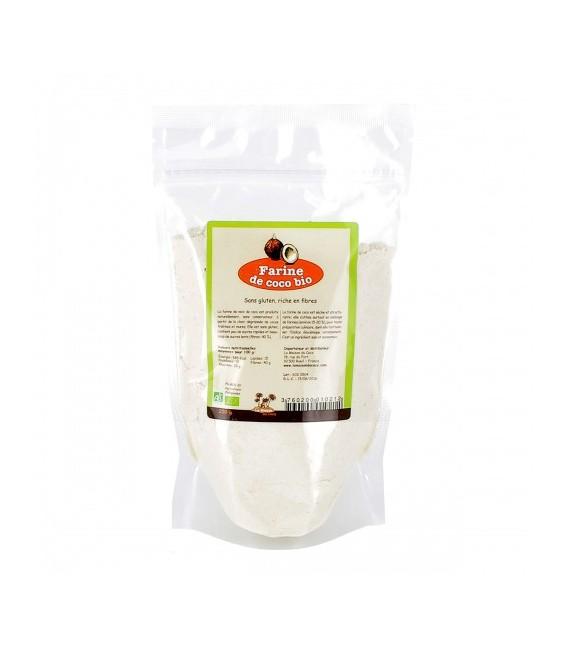 DATE DÉPASSÉE - Farine de coco bio & équitable, 250 g