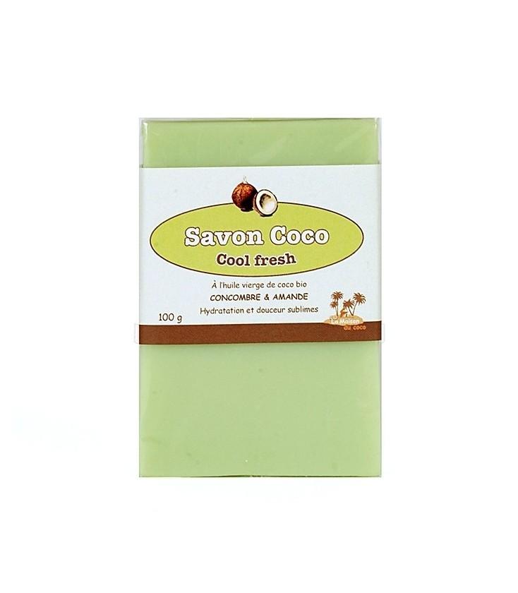 Savon Coco Cool Fresh : Concombre / Amande