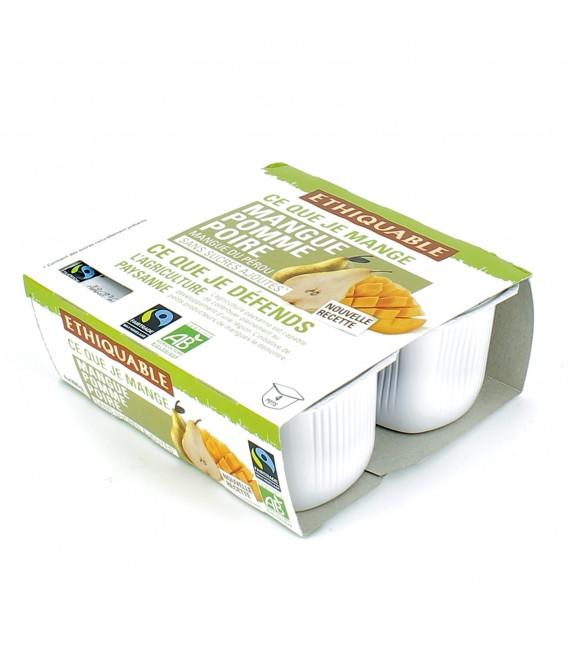 PROMO - Purée mangue, pomme & poire bio et équitable