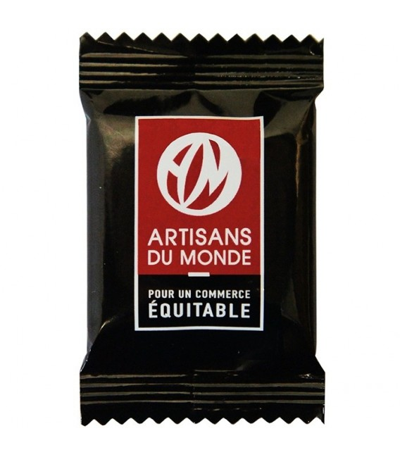 Napolitains carrés de chocolat Noir bio & équitable