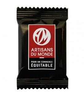 PROMO DÉCOUVERTE - Napolitains carrés de chocolat Noir bio & équitable Quantité:x 10 Quantité:x 10 Quantité:x 10 Quantité:x 10