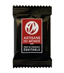PROMO DÉCOUVERTE - Napolitains carrés de chocolat Noir bio & équitable Quantité:x 200 Quantité:x 400