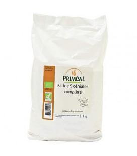 PROMO DÉCOUVERTE - Farine 5 céréales complète bio