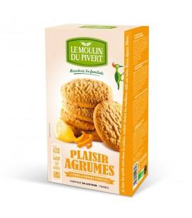 PROMO - Biscuits Plaisir Agrumes Citron et Orange confits bio & équitable