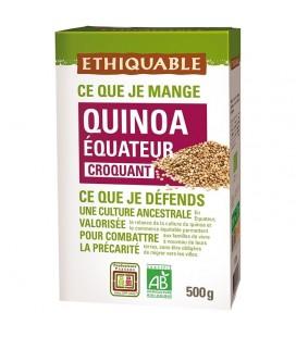 PROMO DÉCOUVERTE - Quinoa Blond bio & équitable croquant