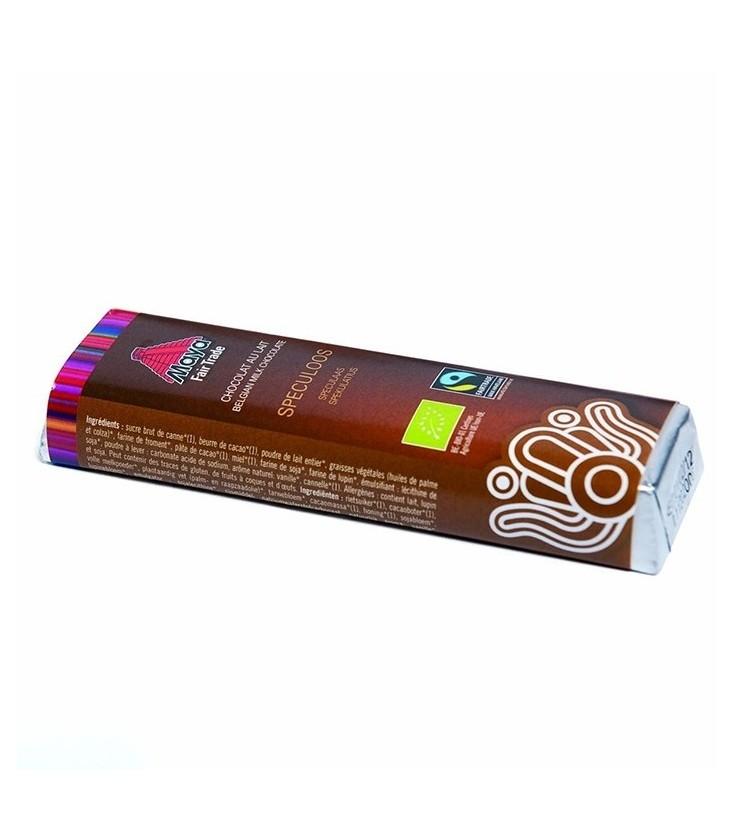 Barre Chocolat Lait Spéculoos bio & équitable