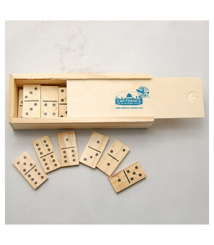 PROMO - Jeu de dominos miniature en bois - DERNIERS STOCKS