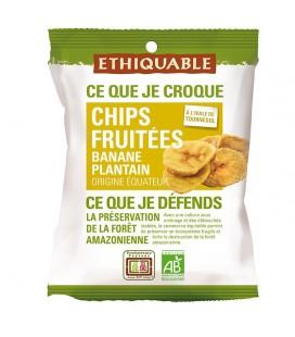 PROMO - Chips FRUITÉES Banane Plantain bio & équitable
