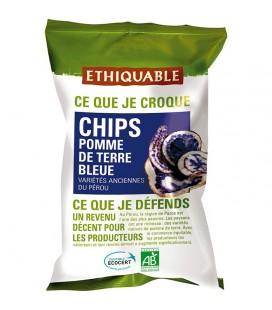 PROMO DÉCOUVERTE - Chips Pomme de Terre Bleue bio & équitable