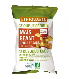 DATE PROCHE - Maïs géant grillé et salé bio & équitable