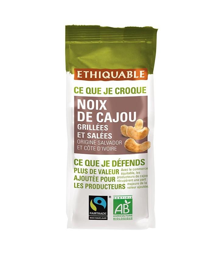 PROMO - Noix de Cajou Grillées et Salées bio & équitable