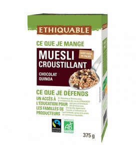 Muesli Croustillant Chocolat Quinoa