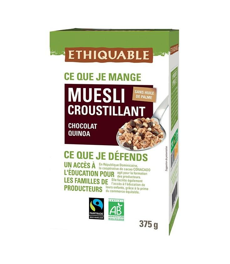 DATE DÉPASSÉE - Muesli Croustillant Chocolat Quinoa