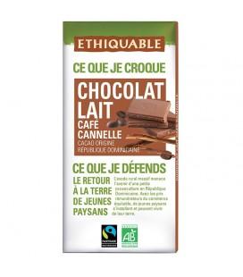 PROMO DÉCOUVERTE - Chocolat Lait Café Cannelle