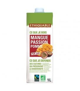 Pur Jus Mangue Passion Pomme bio & équitable