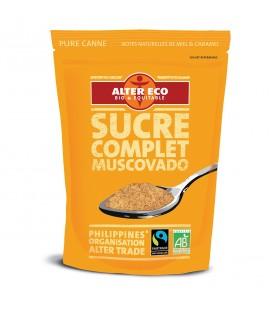 Sucre Canne Complet Mascobado bio & équitable