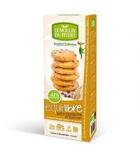 Biscuits bio Equi'libre Petit Epeautre et Chocolat Bio & Vegan