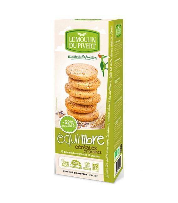 PROMO DÉCOUVERTE - Biscuits bio Equi'libre Céréales et Graines Bio & Vegan